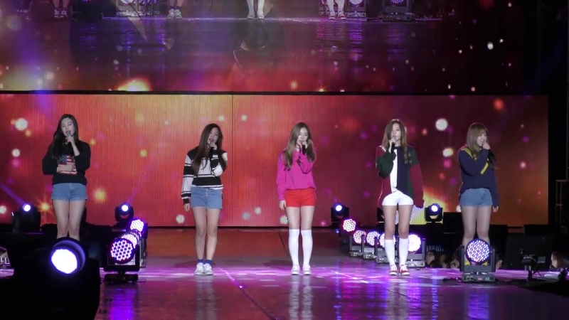 151004 Red Velvet - Candy @ Gangnam K-pop Festival Fancam