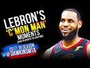 LeBron James C'Mon MAN Moments in 2018 ECSF vs Raptors - UNREAL LeBron! | FreeDawkins