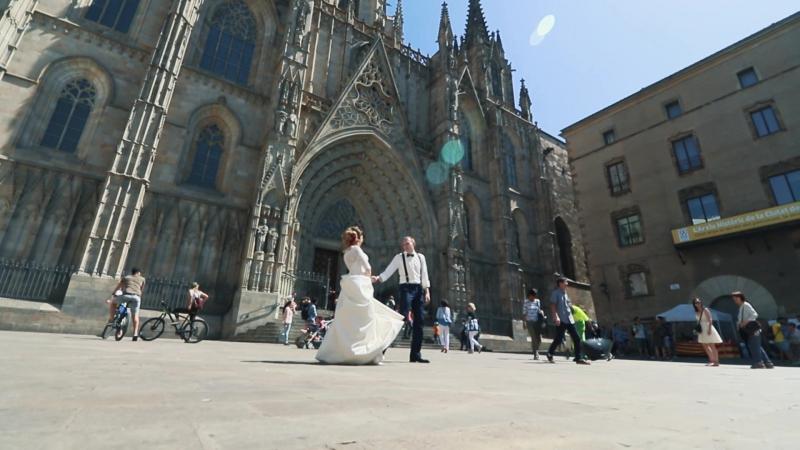 Вова и Катя Barcelona