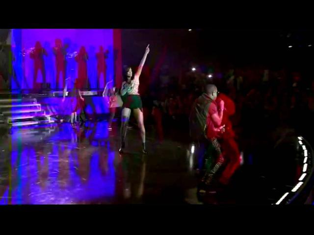 Kanye West Ft Rihanna - All of the Lights Live @ 2011 NBA All Star Game Halftime Show