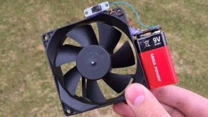 5 incredible ideas and Simple Life Hacks with Computer Fan