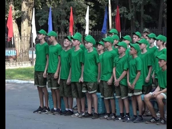 Военно-патриотический лагерь «Феникс» открыл свои двери для будущих защитников