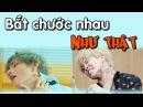 [ BTS funny moments 9] Bắt chước nhau như thật (Phần 1) =)(BTS imitating each other)