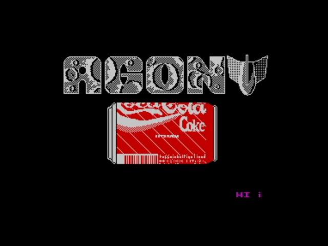 ZX Spectrum 48 128k Agony Megademo 1993