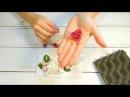 Глава 1. Мастер-класс Конверт: роза и гардения из глины Гудвин (goodwin)
