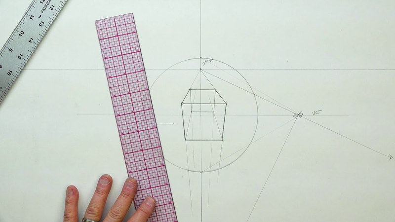 FORMAL LINEAR PERSPECTIVE: SECTION FIVE 1PT-3PT Forms EX 45