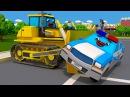 Мультики для детей - Полицейская Машина и Скорая Помощь - ГРАБИТЕЛЬ В ГОРОДЕ - Мул...