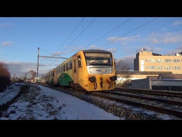 Vlaky Brno-Židenice 19.1.2018