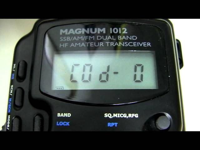 Magnum 1012 AM/FM/SSB Expanded Frequency Conversion 10 12 Meter / CB Radio