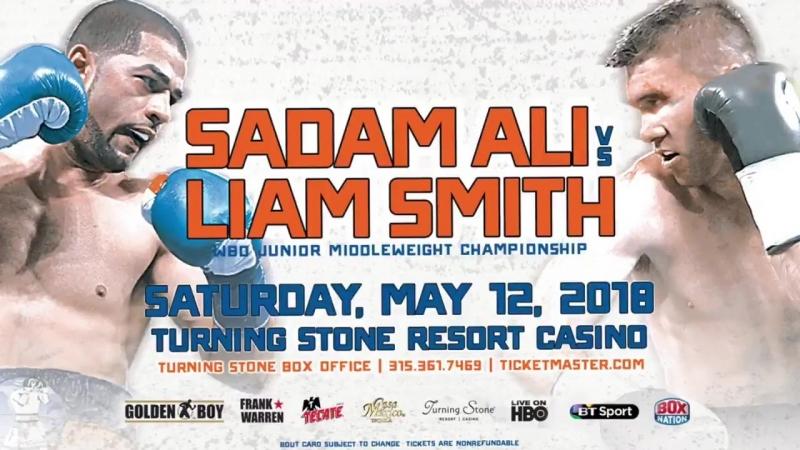 PROMO from HBO: Sadam Ali vs Liam Smith / May 12