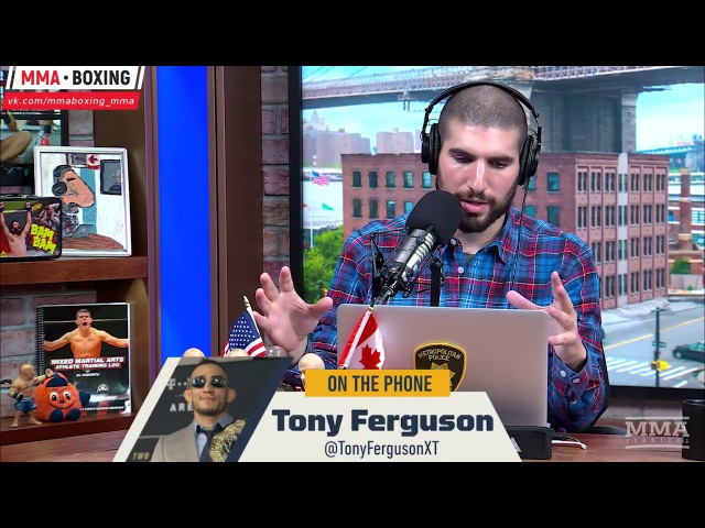 Тони Фергюсон: Я подрежу крылья этому орлу! njyb athu.cjy: z gjlht;e rhskmz 'njve jhke!