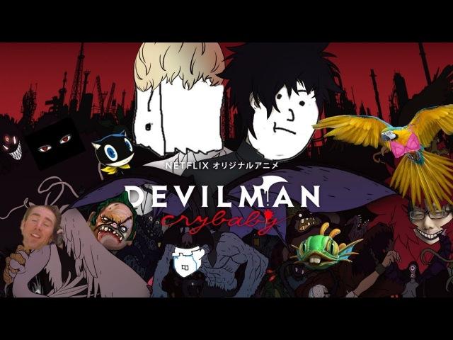 Обзор на Devilman: Crybaby не вставая с кресла