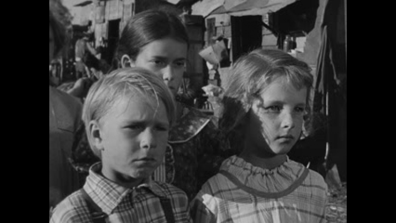 Гроздья гнева(1940 г.) Голодные дети, бандосы.
