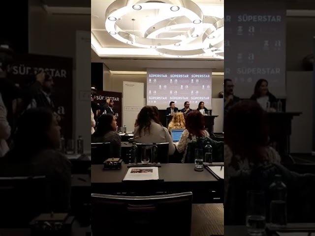 Aamir Khan, İstanbul basın toplantısı..