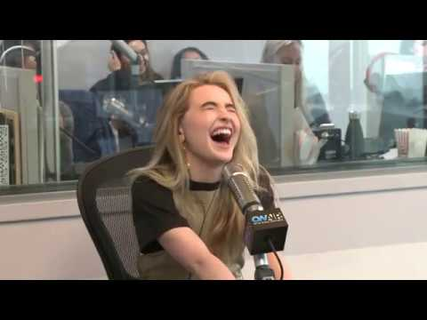 Sabrina Carpenter Ryan Talk About Her Work At Children's Hospitals On Air with Ryan Seacrest
