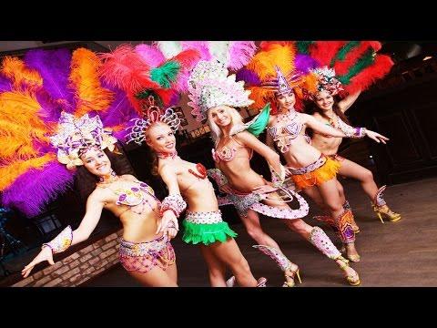 Очень красивый бразильский танец. Шоу-балет