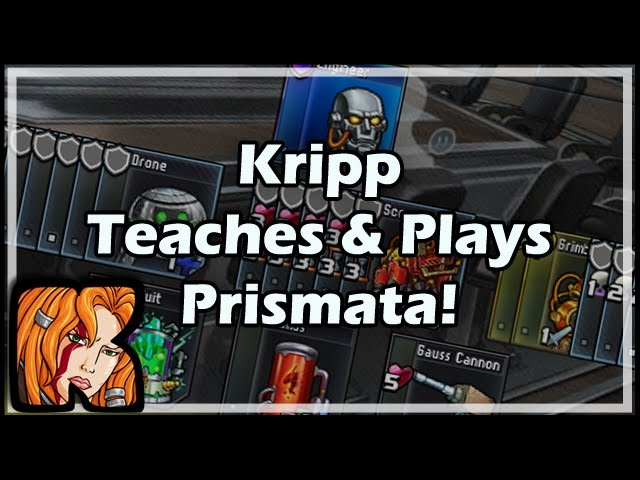 [Prismata] Kripp Teaches Plays Prismata