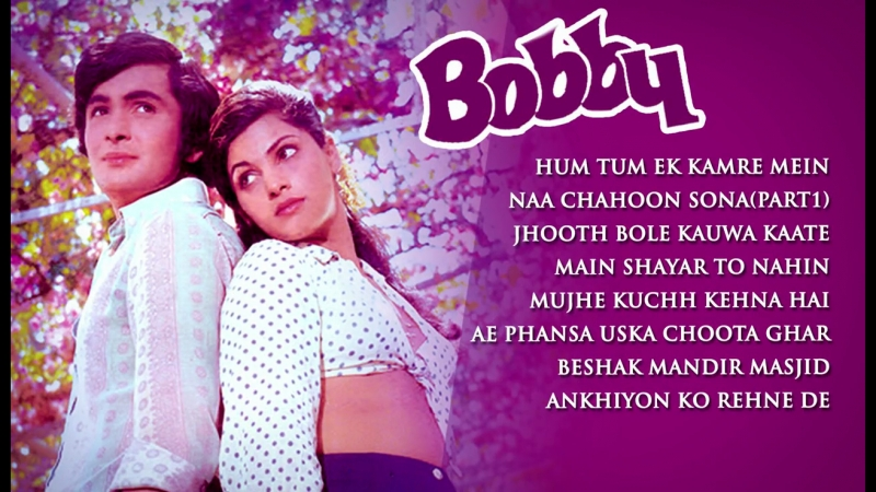 Bobby (1973)-Video Songs - Rishi Kapoor, Dimple Kapadia