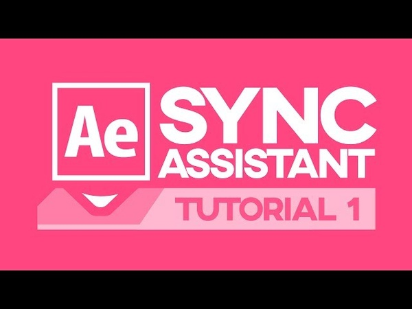 SyncAssistant After Effects Script Plugin How to Install First use Tutorial Part 1