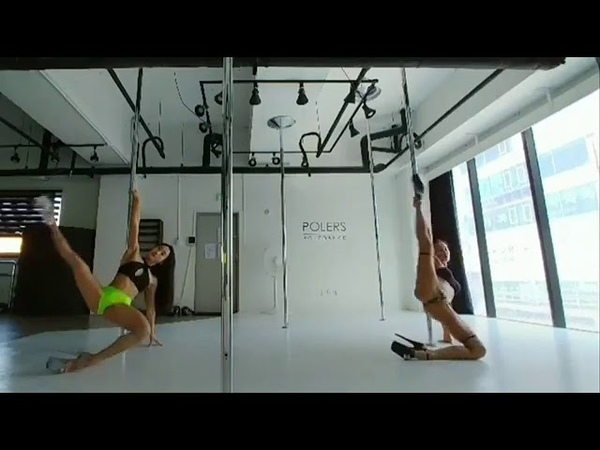 Double Exotic pole dance