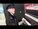 Security Guard OWNS the Play Me Piano during lunchbreak