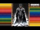 Speed Drawing: Ben Affleck's Batman | Jasmina Susak