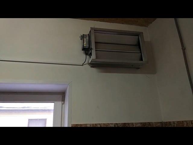 Приточно-вытяжная вентиляции для дизельного генератора установленного в помещении
