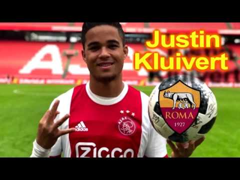 JUSTIN KLUIVERT - Welcome to AS ROMA