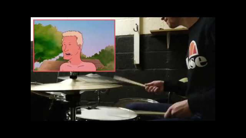 Boomhauer w/ dang ol' drums
