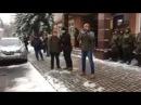 Акція підтримки на суді Андрія Медведька і Дениса Поліщука з C14