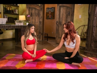 Jayden Cole, Veronica Rodriguez [PornMir, ПОРНО ВК, new Porn vk, HD 1080, Lesbian, Squirt, Latin, Yoga]
