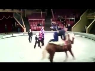 Сходила с пьяным мужем в цирк! ))
