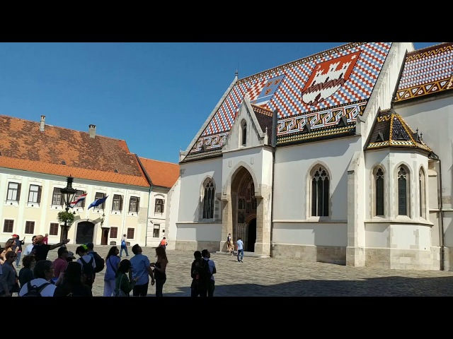 BELLS Zvona 🔔🔔🔔 Zagreb St Mark's Church Croatia
