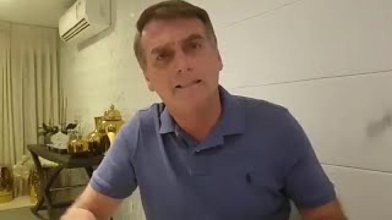 JAIR BOLSONARO QUER METRALHAR A ROCINHA, NÃO SEJA ENGANADO!!