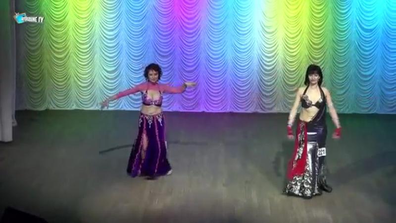 Юлия Барышникова Татьяна Шибанова☀Belly Dance GOLD FINAL Senhora☀Ukraine Oryant 19007
