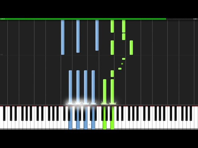 Again - Fullmetal Alchemist: Brotherhood (Opening 1) [Piano Tutorial] (Synthesia) Animenz