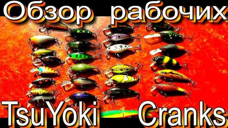 Обзор рабочих воблеров кренков «Cranks» от TsuYoki. Для тех кто любит рыбалку