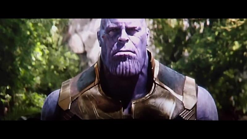 Мстители Война Бесконечности. Алая Ведьма уничтожает камень. Танос собирает полную перчатку.