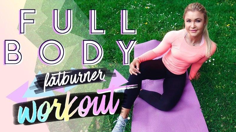 15min FATBURN Full Body Workout   Home Training zum mitmachen!