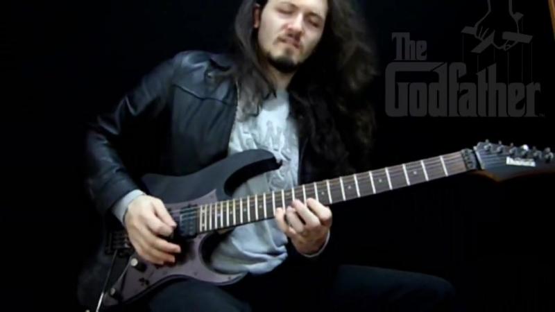 GodFather Theme on Electric Guitar - İBRAHİM BİRDAL