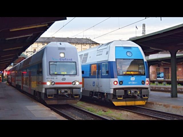 Vlaky Praha Masarykovo nádraží ● 02.08.2017