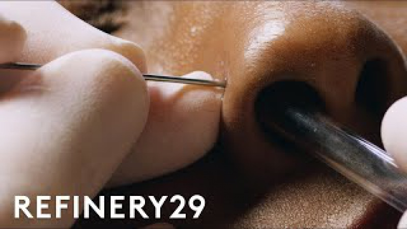 How To Get A Nose Piercing With Brian Keith Thompson Of Body Electric   Macro Beauty   Refinery29