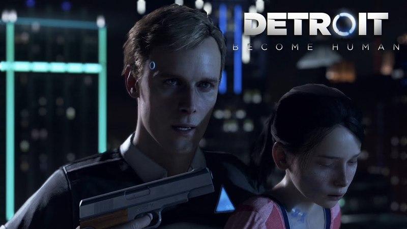 Прохождение Detroit: Become Human 1 (PS4) - Люди и андроиды