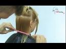 Женская стрижка Каре на удлинение от Арсена Декусара / AD studio TV /