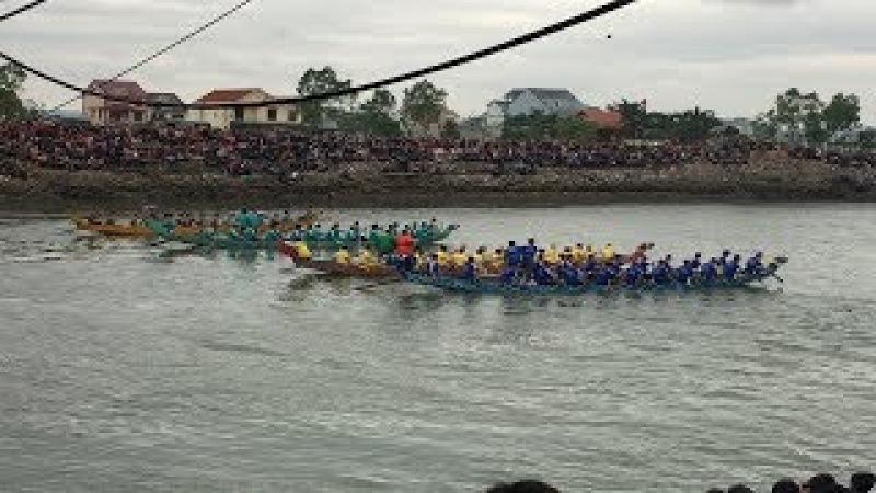 在越南有辦活動滑龍舟歡迎大家來看喔 Part1