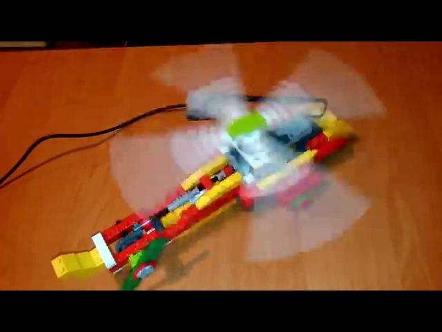 Helikopter z wykorzystaniem LEGO® WeDo