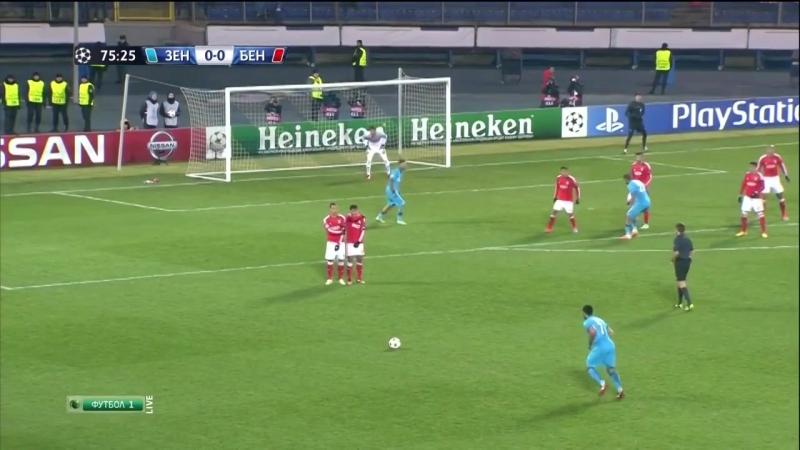 Зенит 1-0 Бенфика / 26.11.2014 / FC Zenit vs SL Benfica