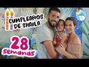 Cumpleaños De Shaila 28 Semanas de Embarazo miembarazomolon