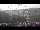 Парад Победы 2018, салют из воздушных шаров