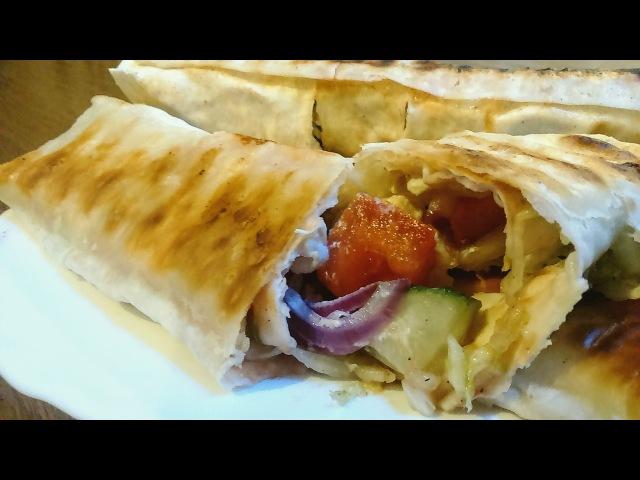 ✧ ШАУРМА ПО-ДОМАШНЕМУ ✧ Shawarma At Home With Chicken ✧ Марьяна